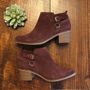 Sonoma | NWOB - Genuine Suede Booties